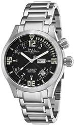 Ball Men's DM1020A-SAJ-BKW Engineer Master II Black Day Date Dial Watch