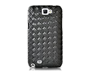 Amano Series Samsung Galaxy Note 2 Leather Case N7100 - Black