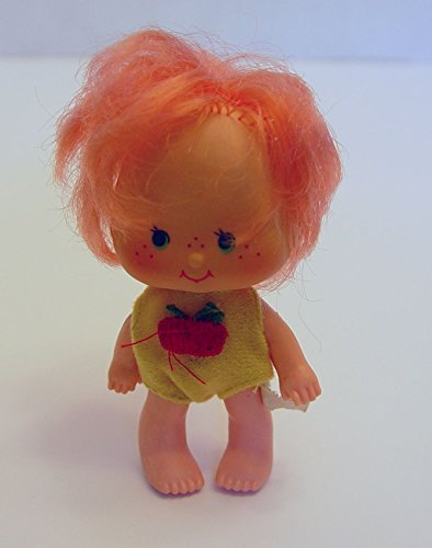 1979 Cherry Cuddler Vintage Doll 3.75 Inch Tall Strawberry Shortcake's Friend]()