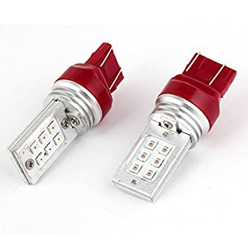Rojo T20 7443 992A 12 SMD LED de copia de seguridad lámpara del ...