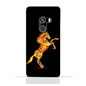 AMC Design Xiaomi Mi Mix TPU Silicone Protective Case with Horse on Flame Design