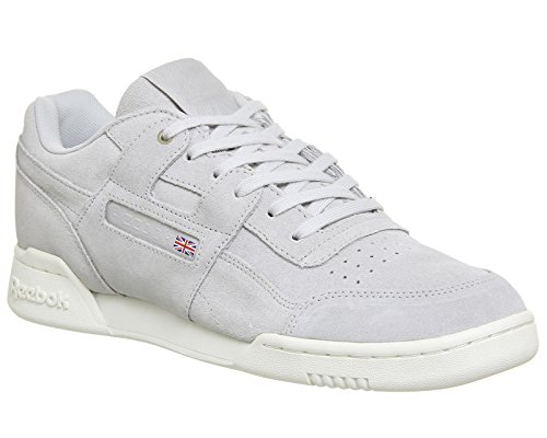 Reebok Workout Plus Montana Cans Collaboration Herren Sneaker Grau Grau