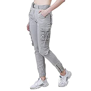 Women's Regular Fit Cargo Pants