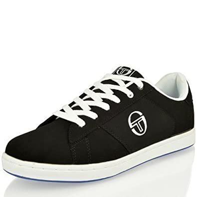 MENS SERGIO TACCHINI BOYS SUEDE VALCRO LACE UP CASUAL SPORTS TRAINERS SHOES  SIZE (7 UK