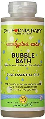 California Baby Bubble Bath Aromatherapy Eucalyptus Ease