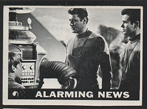 1966 Topps Lost In Space (Non-Sports) card#29 Alarming News of the Grade Excellent from Topps