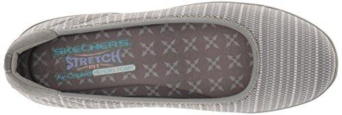 Skechers Womens Kiss Secret Wedge Pump Grey
