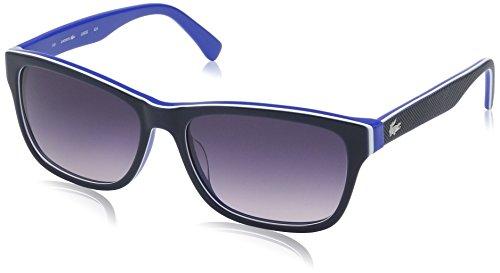 Lacoste L683s Square Sunglasses, Blue/Turquiose, 55 - Sunglasses Price Lacoste