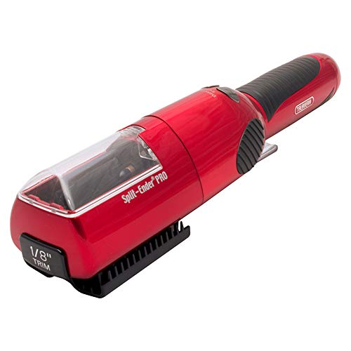 Split-Ender Pro Cordless Split End Hair Trimmer by Talavera (Red)