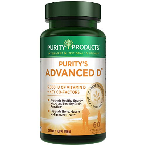 Perfect Multi Super Greens - Dr. Cannell's Advanced D - Vitamin D Super Formula - 60 Vegetarian Capsules - Purity Products