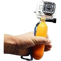 Knmaster Tüm Aksiyon Kameralara Uyumlu Bobber Şamandıra Yüzen Tutacak Unisex, Sarı, Tek Beden