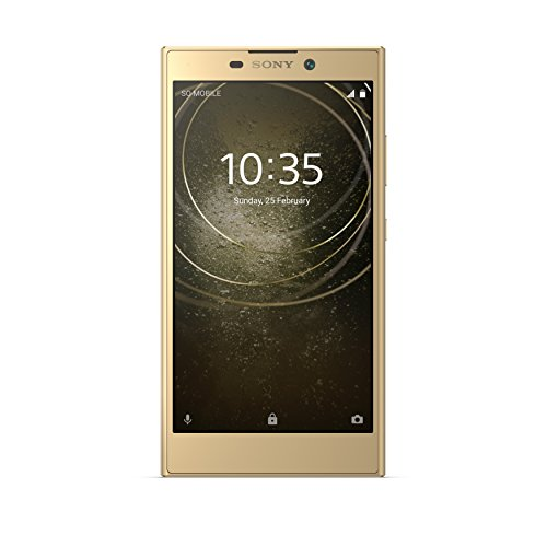 (Sony Xperia L2 H3321 32GB Unlocked GSM 4G LTE Android Phone w/ 13MP Camera - Gold)