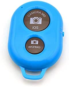 Bluetooth Wireless Remote Control Shutter for iPhone 5 5S Samsung Galaxy S2 S3 S4 S5 Blue