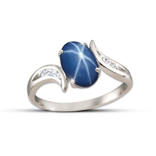 Ring: Sky Gazer Ring by The Bradford Exchange: 7