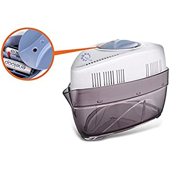 Airlux Battery-powered Cordless Dehumidifier Designed to Eliminate Excess Moisture from Small Rooms & Spaces, 1000cc Capacity