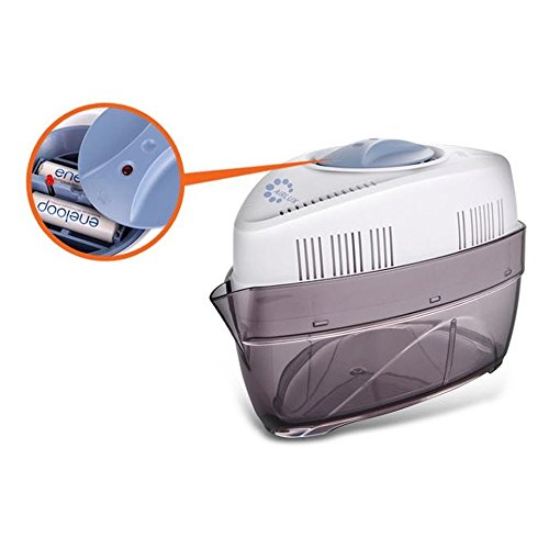 Airlux battery powered cordless dehumidifier designed to eliminate excess moisture from small - Small space dehumidifier bags set ...