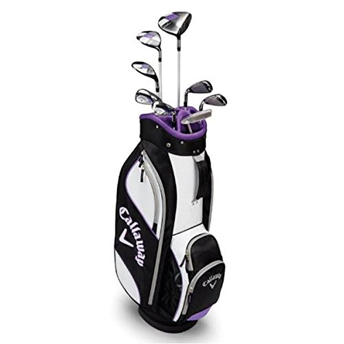 efae0aa3bc Callaway Solaire Golf Club Set for Ladies. Women s 9-Piece Complete Golfing  Set (Right Hand