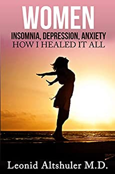 Women Insomnia Depression Anxiety Healed ebook product image