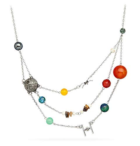 Star Wars Galactic Necklace(STAR WARS銀河系ネックレス)   B07N841PHV
