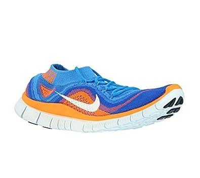 buy online 64978 fff2f NIKE Free Flyknit blauorange gr43 Sneaker Moire Presto