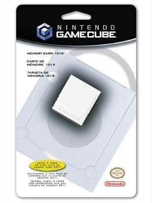Gamecube Memory Card 1019 by Nintendo: Amazon.es: Videojuegos