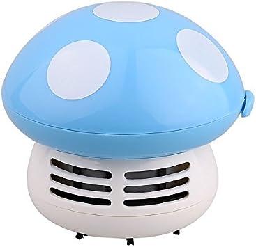 ANKKO Aspiradora mini seta limpiador Aspiradora de mano Aspirador para el ordenador - Azul: Amazon.es: Bricolaje y herramientas
