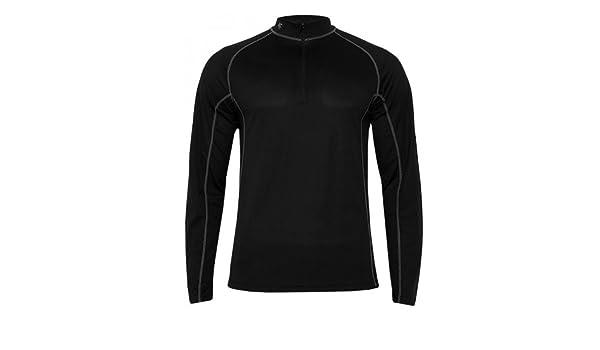 4F para hombre ropa interior térmica de esquí prendas T-Shirt, invierno, hombre, color Negro - negro, tamaño XL: Amazon.es: Deportes y aire libre