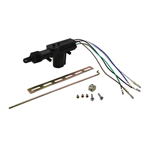 uxcell Black DC 12V 5 Wires Auto Car Door Lock Keyless Motor Central Locking System by uxcell