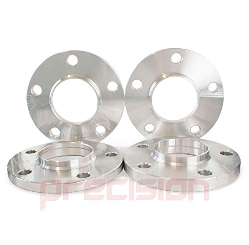 Precision Staggered Fitment Wheel Spacers 12mm and 15mm with Bolts ƁMW 5 Series 2011 On PN.SFP-2PHS3+2PHS4+20BM42545115