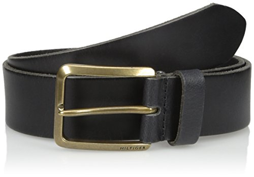 Tommy Hilfiger Men's Casual Belt With Brass-Finished Buckle