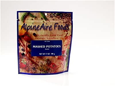 Amazon.com: AlpineAire Foods Instant Mashed Potatoes ...