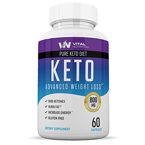 Keto Diet Pills from Shark Tank - Ketosis Supplement to Burn Fat Fast - Ketogenic Carb Blocker - Best Keto Diet Pills for Women and Men - Helps Boost Energy & Metabolism - 60 Capsules
