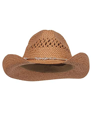 Wholesale Outback Toyo Cowboy Hats (Brown) - 22108 -