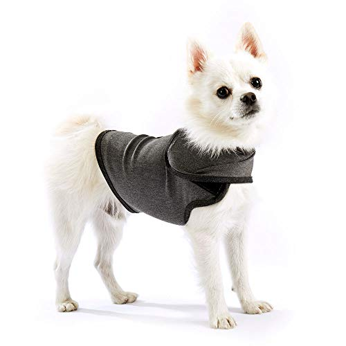 Furubaby Dog Outfits to be fit for Anxious Dog Coat and Dress up to Calm Dog with Jacket Vest for Small Medium Large Dogs Relieve Anxiety and Stress Relief(Dark Gray) -