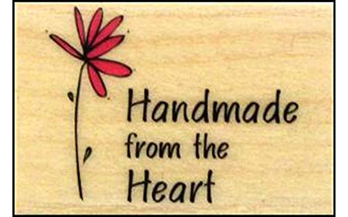 Hero Arts A3092 Woodblock Stamp, Handmade from the Heart