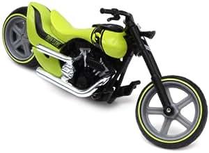 Mattel V3136 Hot Wheels Street Power Twin Flame - Moto en miniatura (escala 1:18)