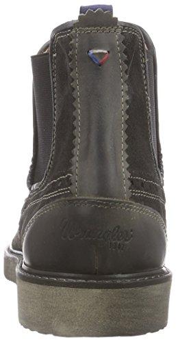 Wrangler Crossfield Herren Chelsea Boots Grau (96 Anthracite)