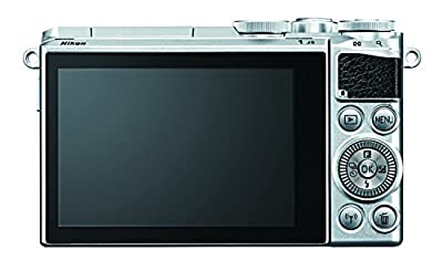 Nikon 1 J5 Mirrorless Digital Camera w/ 10-30mm PD-ZOOM Lens (Silver) (International Model) No Warranty by Nikon
