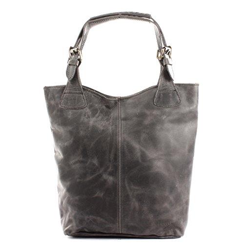 pour femme Sac les le Sac cuir LE0033 34x35x10cm bureau femme en en cuir pour à Leconi main pour main provisions à femme pour à véritable gris cireux Sacs sacs 6YaqcRSw