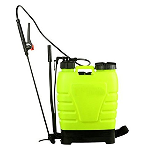 Pump Piston Gallon Poly 4 (Fashine 4 Gallon 16L Sprayer Backpack Portable Poly Garden For Fertilizer, Herbicides And Pesticides)