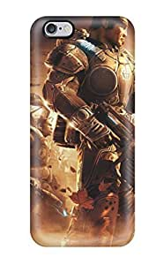 Premium Video Game Gears Of War Heavy-duty Protection Case For iphone 4/4s