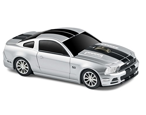 Ford Mustang GT Wireless Computer Mouse -- Silver