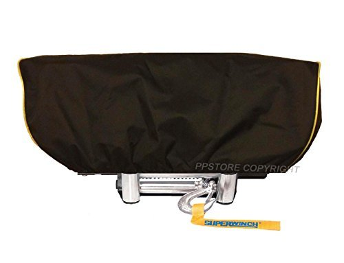 Waterproof Winch Dust Cover Driver Recovery 8500 - 17500 lbs capacity Yellow