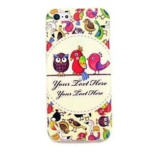 compra Precioso Owl Babies TPU caso suave para el iphone 5C
