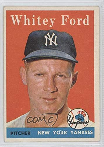 (Whitey Ford (Baseball Card) 1958 Topps - [Base] #320)