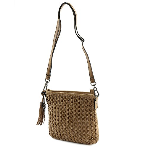 SURI FREY Nelly Crossover Bag Camel