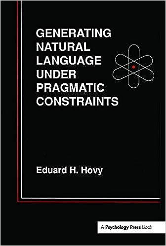 Generating Natural Language Under Pragmatic Constraints