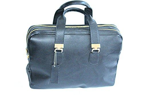 Herren Henkeltasche Schwarze Leder Aktentasche Business bag Computer bag Laptop Tasche Leder Tasche Unisex tasche Unisex bag