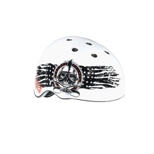 Kali Protectives Samra Flag Bike Helmet (White, Large) Review