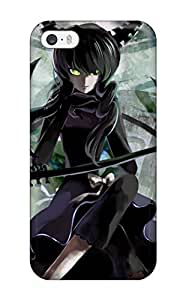 KtPYjqh11919cbFqU For Case Samsung Galaxy Note 2 N7100 Cover Protective Case Black Rock Shooter